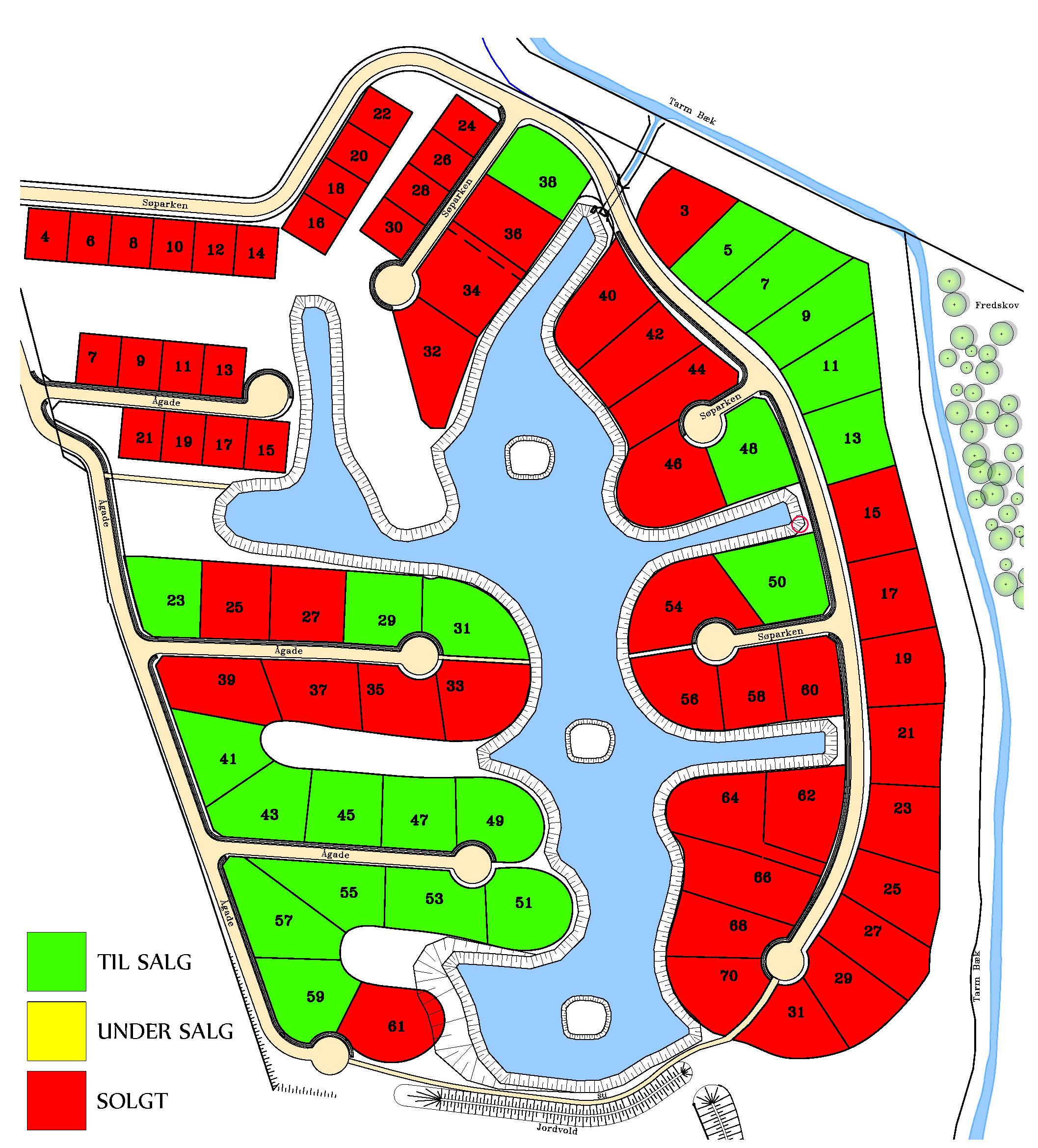 Soparken Tarm Attraktive Byggegrunde Skonne Omgivelser
